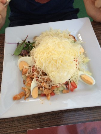 Nyiregyhaza, المجر: Caesar salad