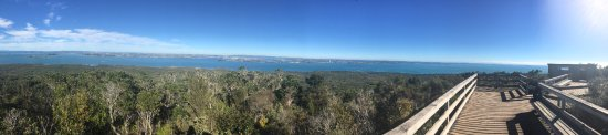 Rangitoto Island : Panoramic view from the summit