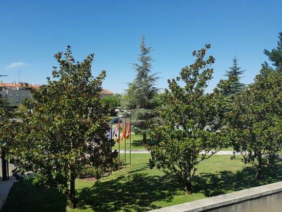 Parador de Salamanca: vistas al jardin
