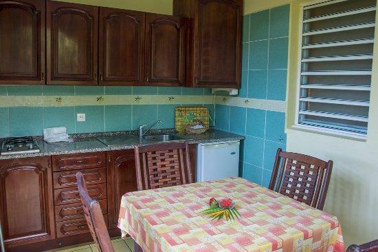 Habitation Grande Anse : outdoor kitchen