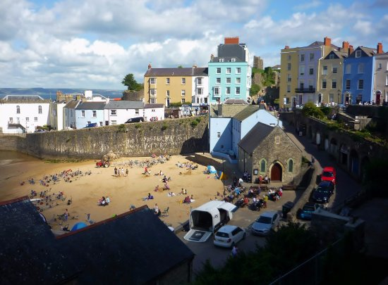 St. Julian's Chapel, Tenby Harbour