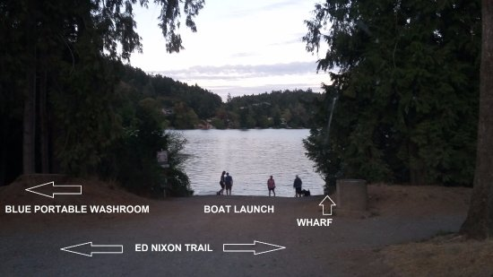 Langford Lake Boat Ramp - beach, wharf, boat launch