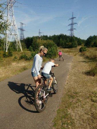 Хорошее место для того чтобы покататься на велосипедах