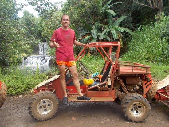 Kauai ATV : ATV cascada
