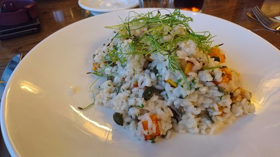 Castel, UK: Vegan risotto