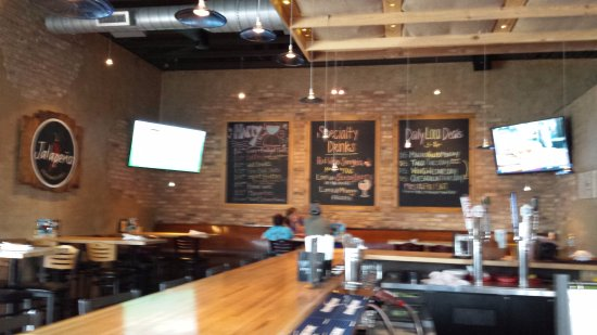 Bridgewater, VA: Restaurant interior