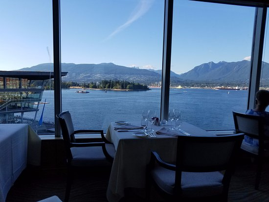 Five Sails Restaurant: View from restaurant