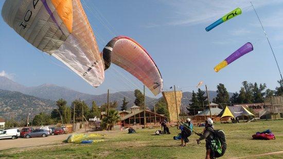 سانتياجو, شيلي: Lugar de aterrizaje