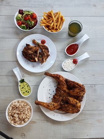 Argenteuil, Francia: Poulet braisé, frite maison