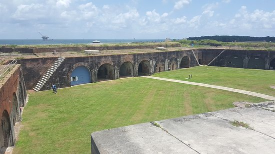 Fort Morgan, Αλαμπάμα: awesome view