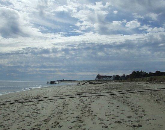 Popham Beach State Park: Popham Beach, Maine