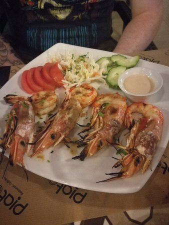 Piato Restaurant: Grilled shrimp