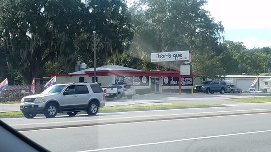 Fruitland Park, FL: The Outside of the Restaurant