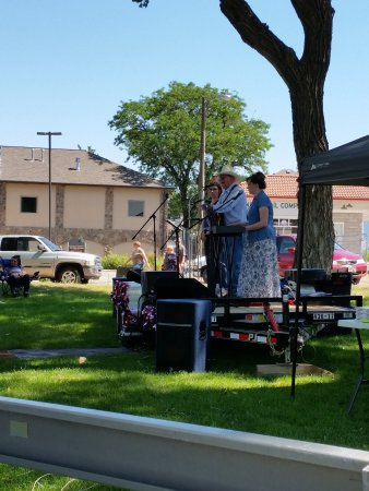 Sterling, CO: These are performers at the July 4th Heritage Festival at the museum