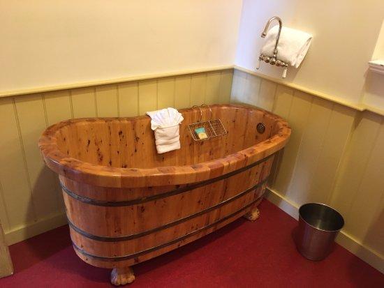 Cosmopolitan Hotel: Soaking Tub