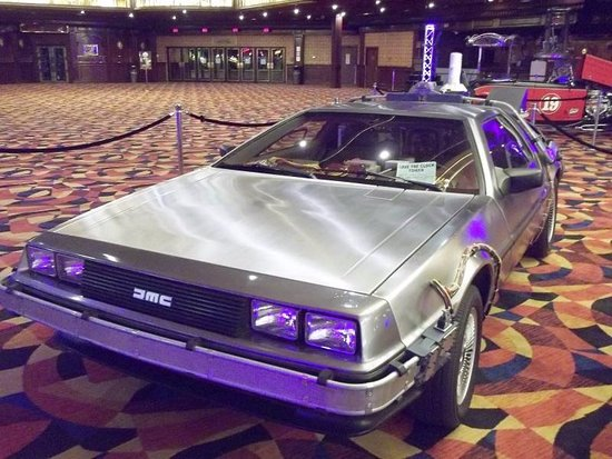 Jean, NV: Back To The Future Movie Car