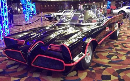 Jean, NV: TV Series Bat-mobile