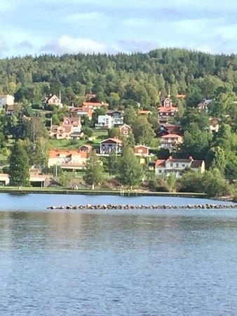 Rattvik, Szwecja: Utsikt från långbryggan