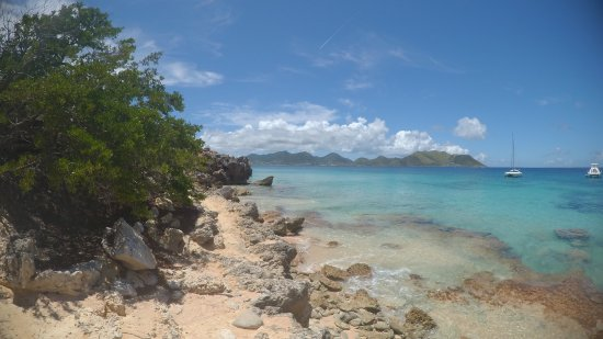 bahía de Simpson, St Martin / St Maarten: Wonderful day at sea!