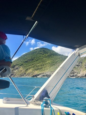 bahía de Simpson, St. Maarten: Wonderful day at sea!