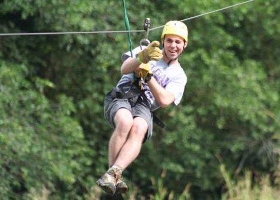 La Virgen, Costa Rica: Canopy zip line tour