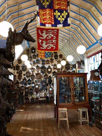 Tabley, UK: Interior of Cuckooland