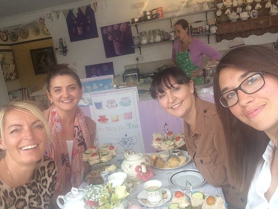 Heaven Is Homemade Vintage Tea Room