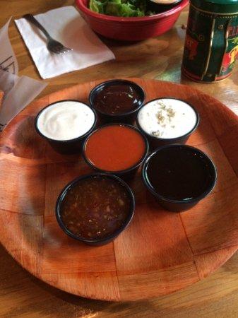 East Wenatchee, WA: Dipping sauce