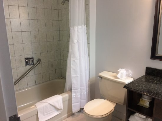 Glynmill Inn: Semi-Renovated Bathroom