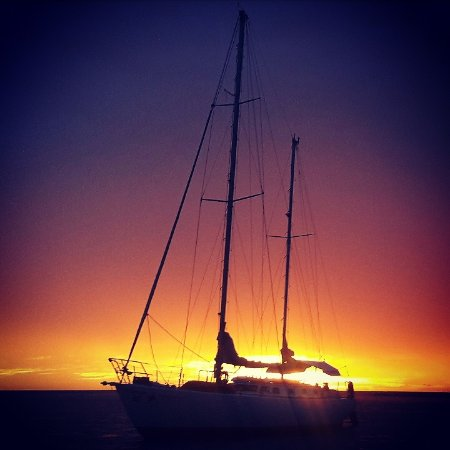 Playa Flamingo, Costa Rica: Sailing in the clasicc