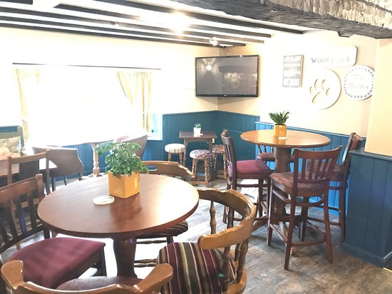 The Woolpack: Recently revamped and under new management.