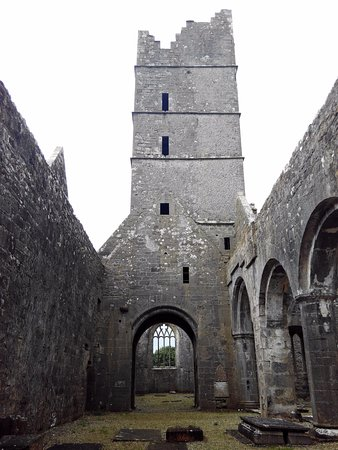 Killala, Ireland: The tower and walls