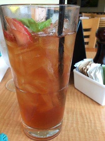 Pebble Beach, Californië: Strawberry Basil Iced Tea