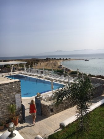 Nea Chryssi Akti, Greece: Resort pool