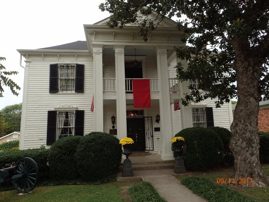 Lotz House Museum: Street view of the home.