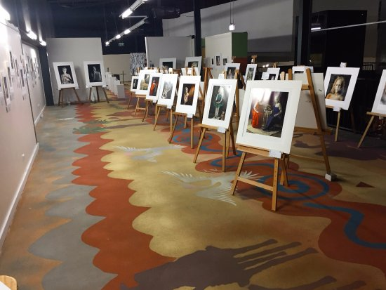 Mount Isa, Australia: Our regional art gallery showcases local talent - free entry!
