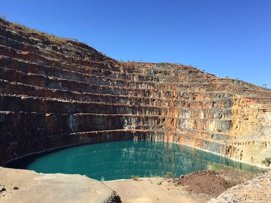 Mount Isa, Australia: The Mary Kathleen Open Cut mine is only 56km out of town