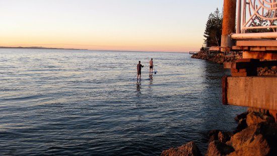 Amity, Australia: Paddle boarding