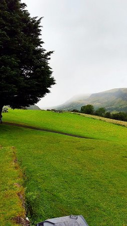 County Antrim, UK: View from Cafe.