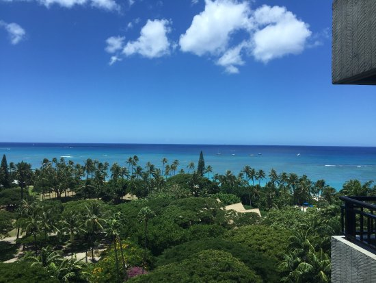 Hale Koa Hotel: View from the Mali Tower elevator.