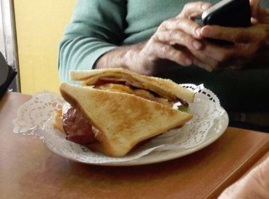 Wynyard, Australia: Steak Sandwich