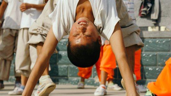 Денгфен, Китай: Hard kung fu practice