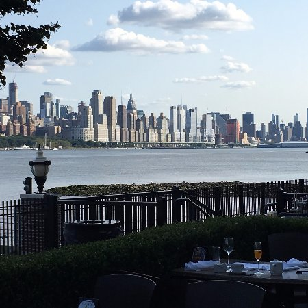 Edgewater, NJ: View from our table