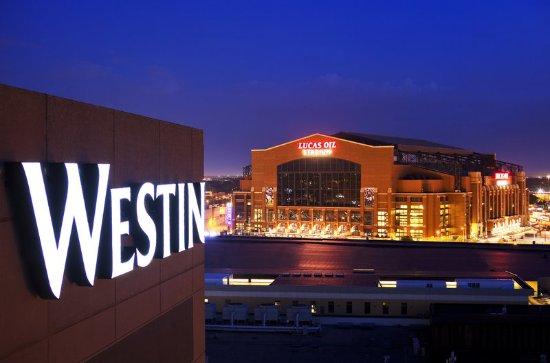 The Westin Indianapolis: Lucas Oil Stadium view