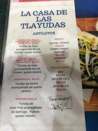 La Casa de Las Tlayudas: photo1.jpg