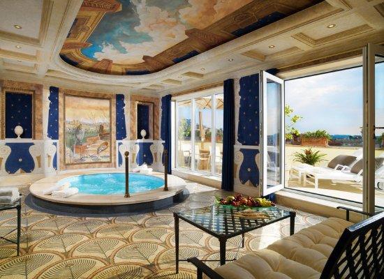 The Westin Excelsior, Rome: Villa La Cupola jacuzzi