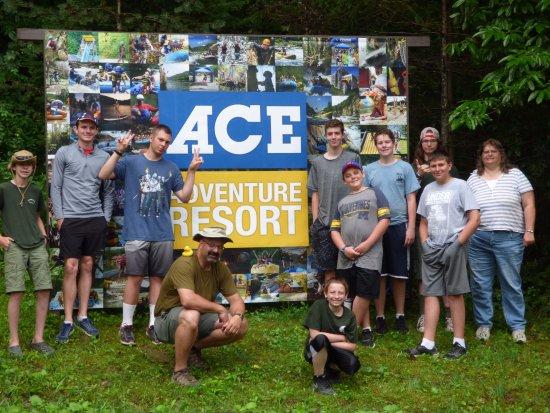 Oak Hill, WV: BSA Troop at ACE