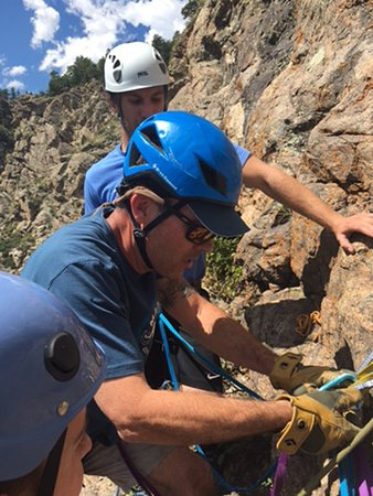 Evergreen, CO: Instructor on Multi Pitch Climbing