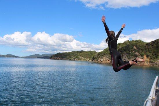 Russell, Nueva Zelanda: Jump!!