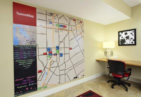 Campbell, Californië: TowneMap